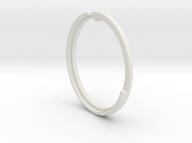 Argus Cintagon Adapter Focus Ring in White Natural Versatile Plastic
