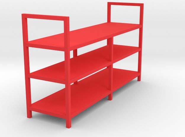 Garage Shelf - 1/24 in Red Processed Versatile Plastic