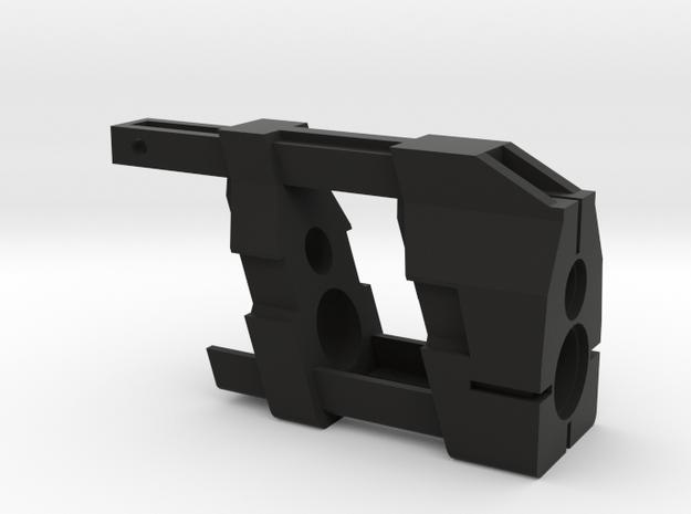 "MP7 ""Apollo"" frontend in Black Natural Versatile Plastic"