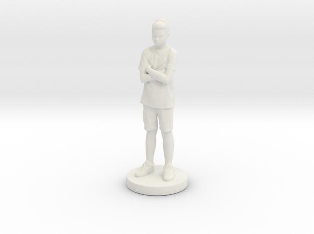Printle C Kid 011 - 1/24 in White Natural Versatile Plastic