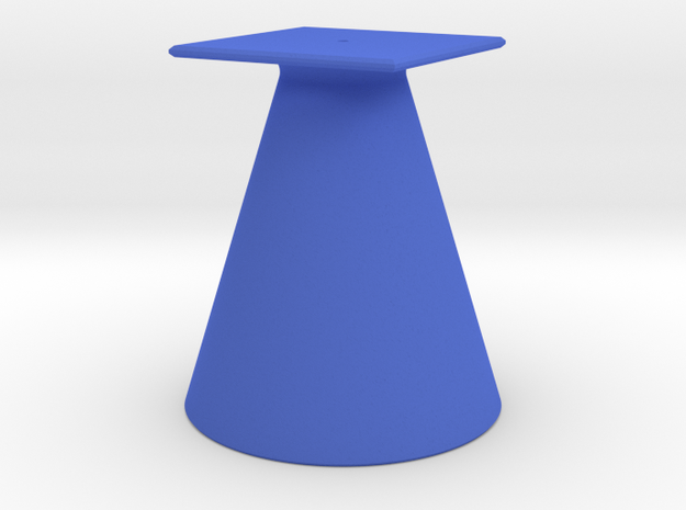 Pokestop Tree Topper Cone in Blue Processed Versatile Plastic