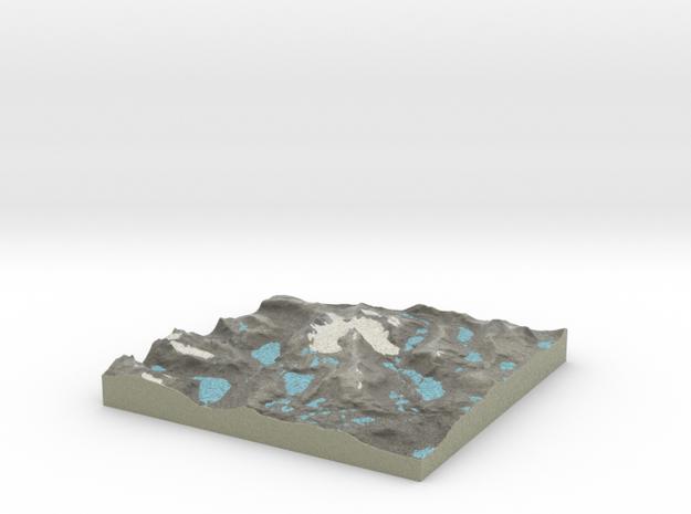 Terrafab generated model Tue Nov 15 2016 10:37:15  in Full Color Sandstone