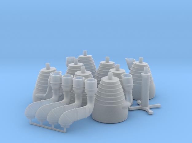 H-1 Engines (1:48 Saturn IB) SA-203 - SA-210 (MOD)