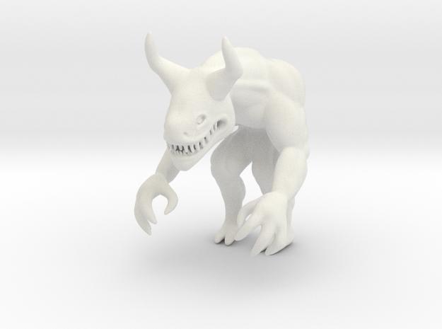 Eviscerator in White Natural Versatile Plastic