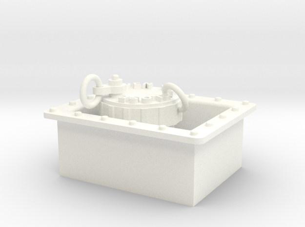 Seaking Hydraulic Oil Filler Assy 3d printed
