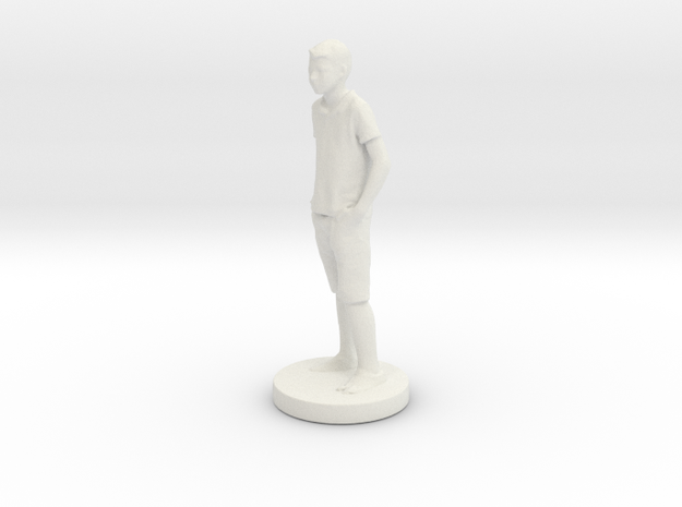Printle C Kid 021 - 1/24 in White Natural Versatile Plastic