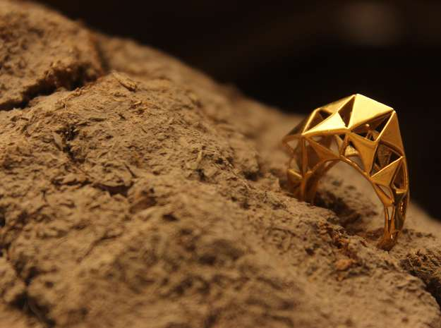 Meshed Up Ring
