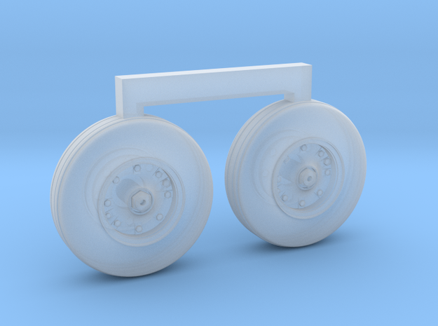 4801 - 1/48 S-3B Viking corrected ft wheels for AM in Smoothest Fine Detail Plastic