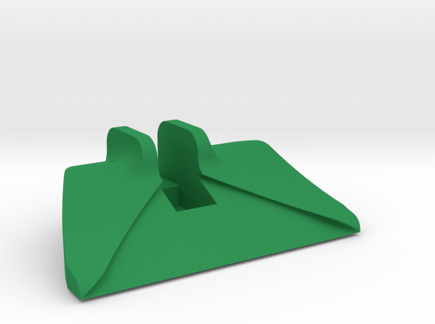 Accessible Card Slider in Green Strong & Flexible Polished