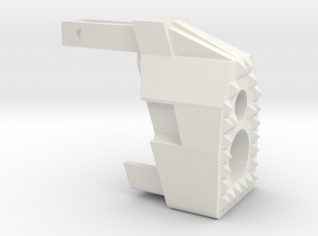 """MP7  """"Warthog"""" frontend in White Strong & Flexible"""