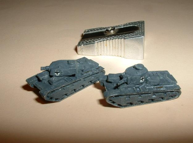 """Heavy Tank """"Neubaufahrzeug"""", 2 Variants 1/285 6mm"""
