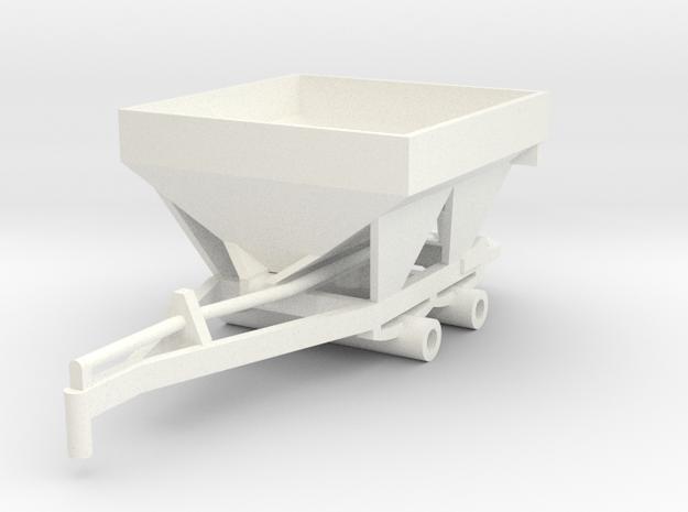 Fertilizer Spreader 5 Ton in White Processed Versatile Plastic