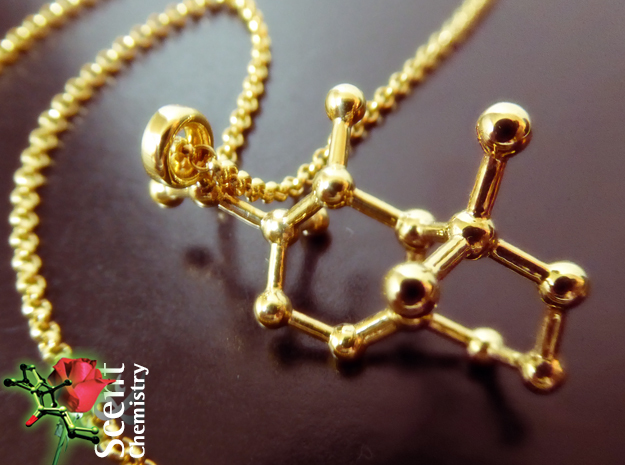 Iso E Super in 18k Gold Plated Brass