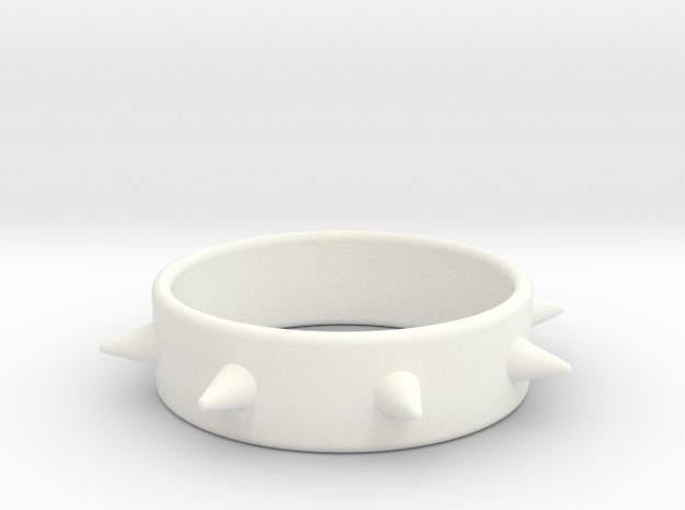 Cring-8 Spike 61-20 in White Processed Versatile Plastic