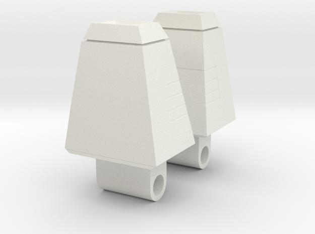 Galvatron Shoulder Pylons