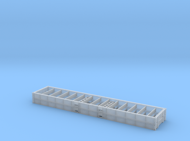 1:87 2 X 40 Plattform Container Holzboden in Smooth Fine Detail Plastic