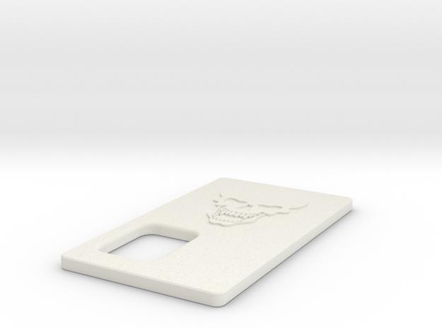 Cover for TalyMod Skull Logo in White Natural Versatile Plastic