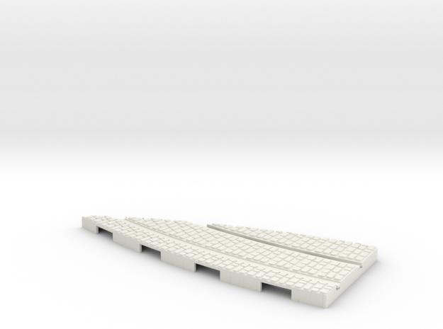 P-165stw-y-junction-curve-250r-part2-1a in White Natural Versatile Plastic