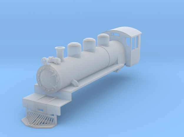 NZ120 C 1930 Locomotive Shell