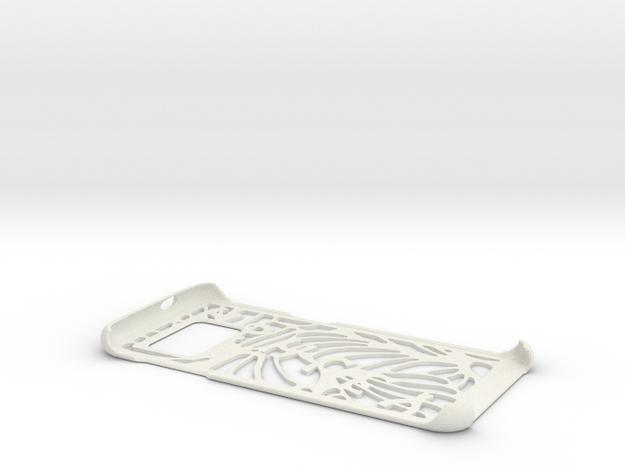 S7 EDGE Case in White Natural Versatile Plastic