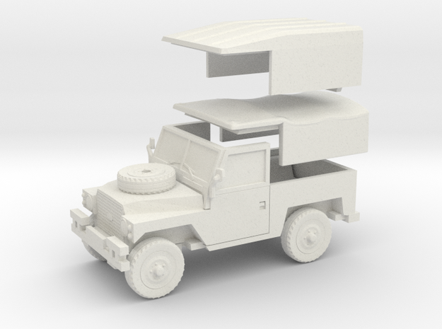 Land Rover Lightweight 88 1:72 in White Natural Versatile Plastic