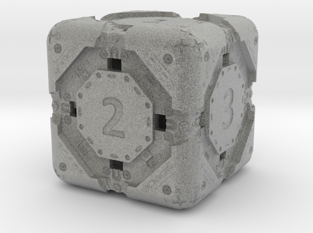 High-Detail Heavy Sci-Fi Dice D6