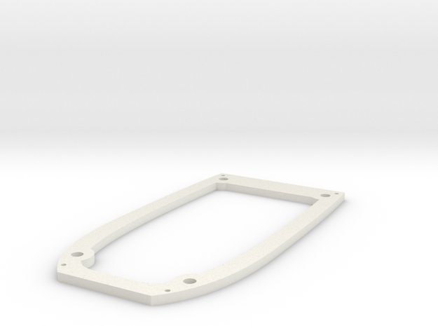 Ranger EX Wing Mount Plate in White Natural Versatile Plastic
