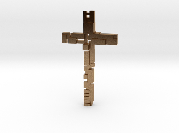 Cross with dimensions