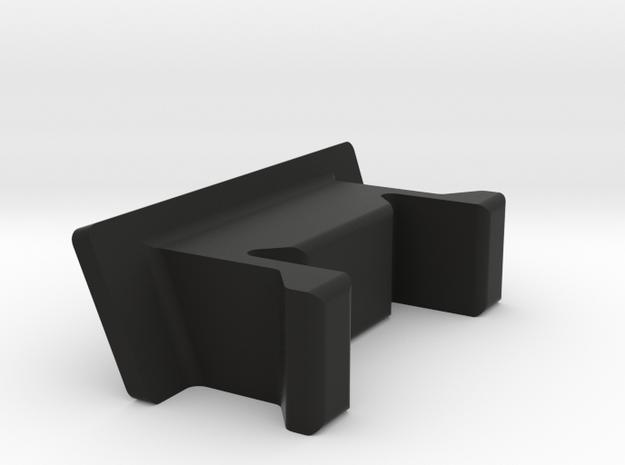 HP 41 Side Panel in Black Natural Versatile Plastic