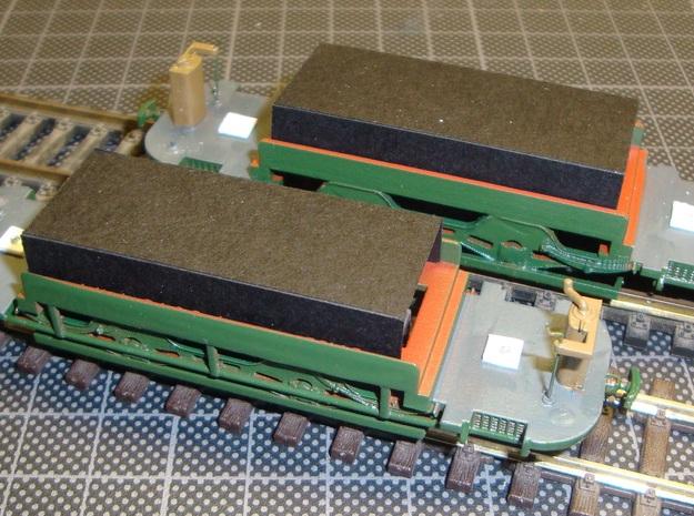 GETA 14-21 Allan Tram Chassis H0  3d printed