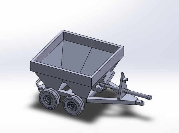 8-Foot Broadcast Spreader -Working in Smoothest Fine Detail Plastic