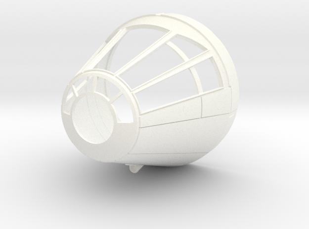 Falcon DeAgo Cone v4.1 in White Processed Versatile Plastic