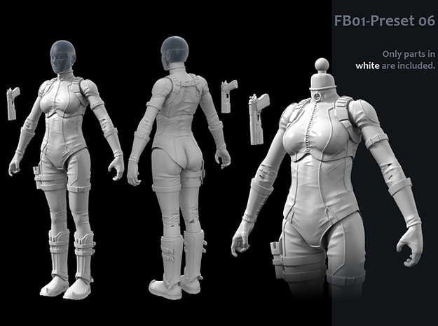 FB01-Preset-06s 6inch 3d printed