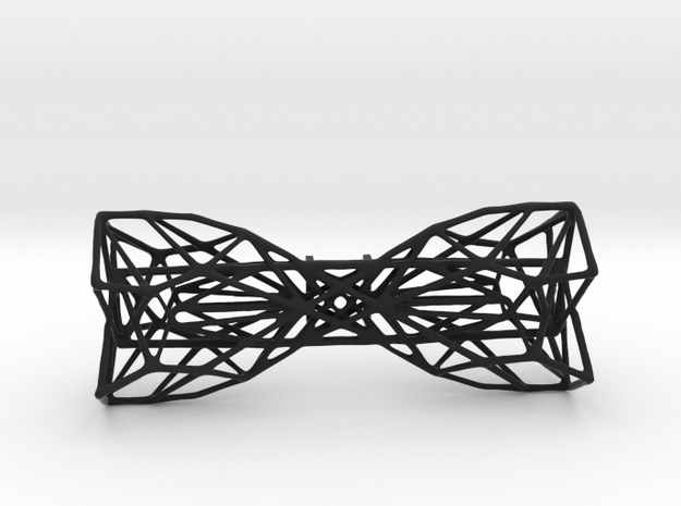 Geometric Bow Tie  in Black Strong & Flexible