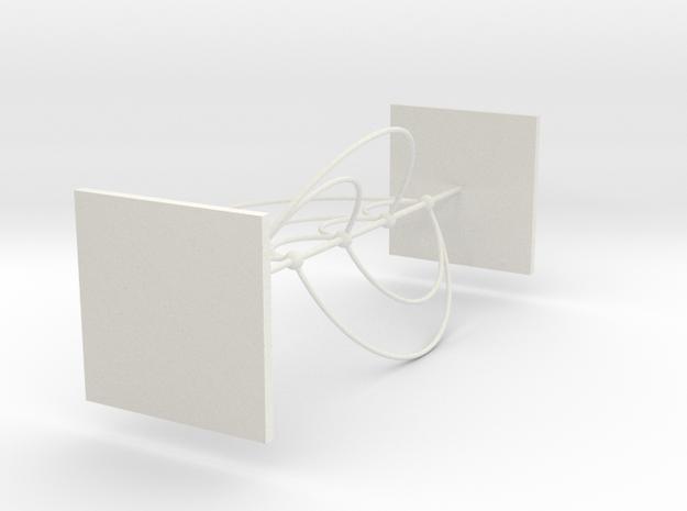 K5 Book Embedding in White Strong & Flexible
