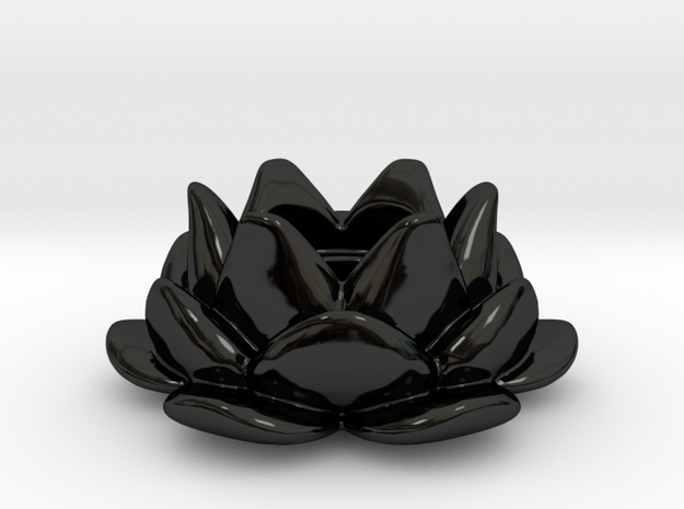 Tealight Lotus Flower Candle Holder 1
