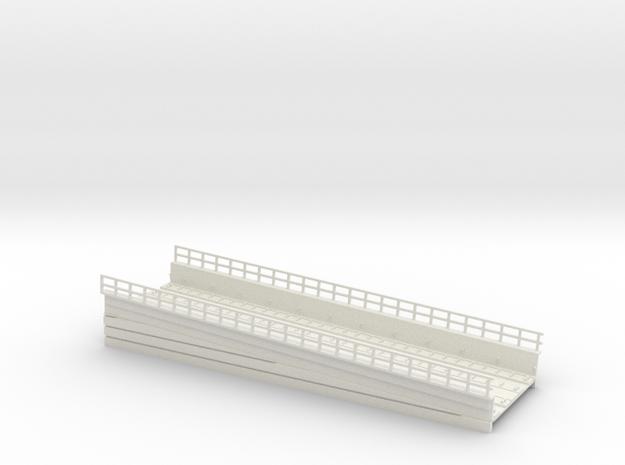 MARKET EL RAMP PT4 HO SCALE in White Natural Versatile Plastic