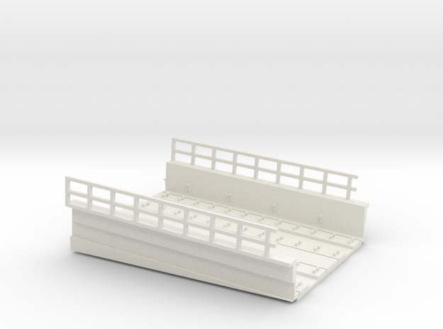 MARKET EL RAMP PT5 HO SCALE in White Strong & Flexible