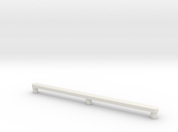 Drawer Glide Mid-Century Modern Danish Credenza in White Strong & Flexible