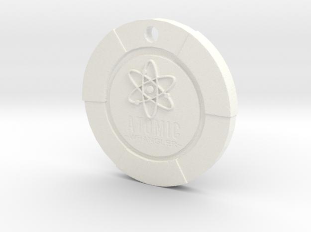 Atomic Wrangler Chip Pendant