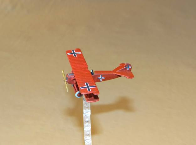 Fokker D.VII 1:144th Scale 3d printed