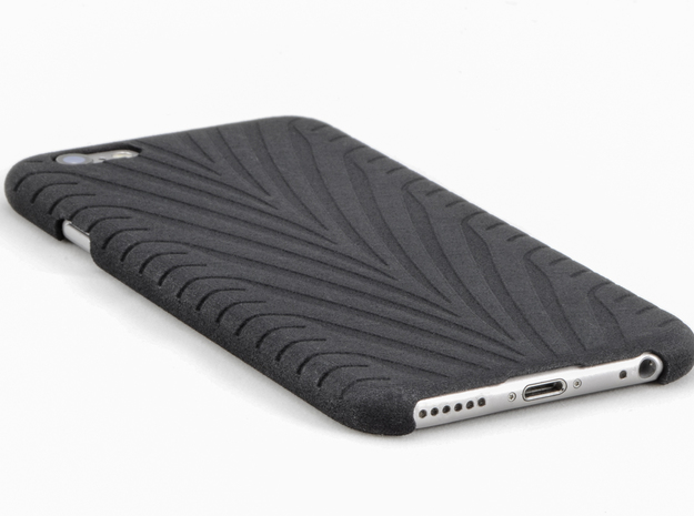 IPhone 6 Phone Case - Eagle F1 Like Tire Track in Black Natural Versatile Plastic