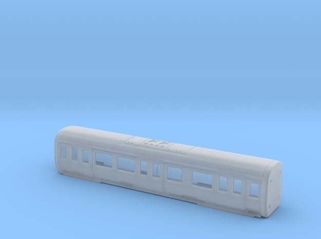 S stock MS Carriage Bodyshell in Frosted Ultra Detail