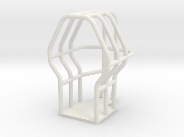pulling tractor roll cage in White Natural Versatile Plastic
