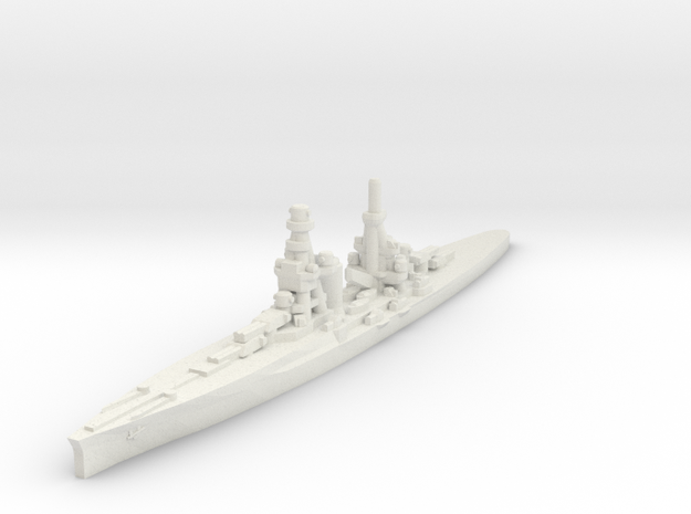 Zara class heavy cruiser 1/2400 in White Natural Versatile Plastic