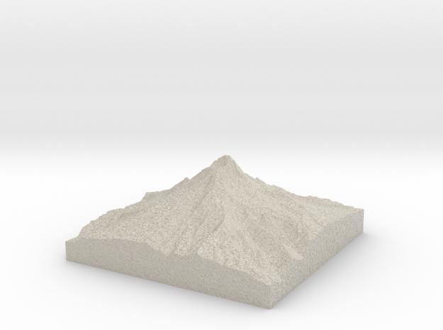 Model of Coalman Glacier in Natural Sandstone