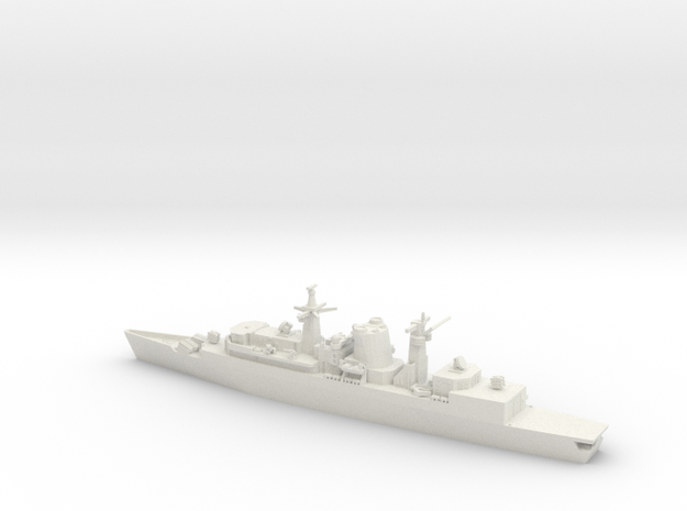 1/700 Type 22 Batch 1, HMS Broadsword in White Natural Versatile Plastic