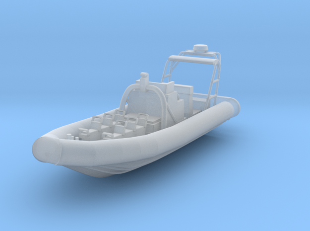 1/96 scale Juliet 3 Water Jet RHIB in Smooth Fine Detail Plastic