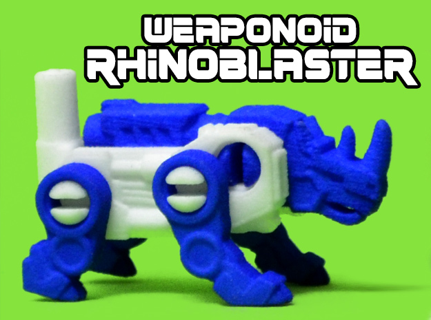 RhinoBlaster Transforming Weaponoid Kit (5mm)