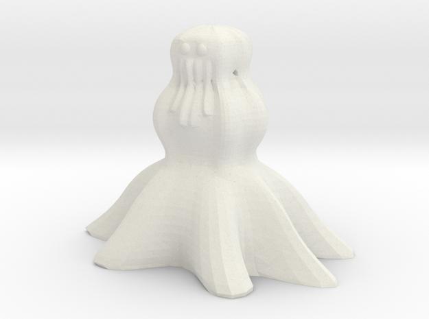 Cthulhu Snowman Ornament